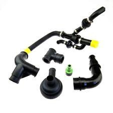 Qty 6 Crankcase Breather Hose Pipe Valve Kit for Audi A3 TT VW Seat Skoda 1.8T