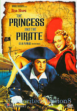 The Princess and the Pirate (1944) - Bob Hope, Virginia Mayo - DVD NEW