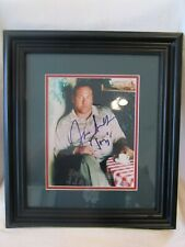 "James Gandolfini ""The Sopranos"" Autographed and Framed 8x10 Photo - Mounted Mem"