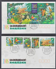1994 ZOOS SET+ SHEETLET FDCs