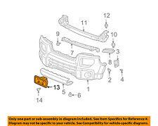 HONDA OEM 03-08 Element Front Bumper-License Frame 71180SCVA00