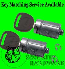 Silverado Sierra Others 07-13 OEM Door Key Lock Cylinder Tumbler Pair 2 Keys