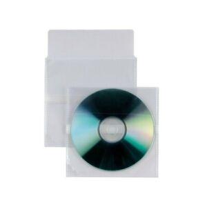 Buste trasparenti Porta CD/DVD Insert - con patella autodesiva SEI ROTA (25 Pz)