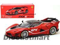 Bburago 1:18 Ferrari FXX-K EVO #54 Diecast Model Signature Series Red 18-16908RD