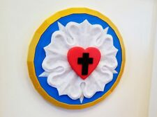 """Luther Rose - Martin Luther's Seal (7"""" Diameter)"""