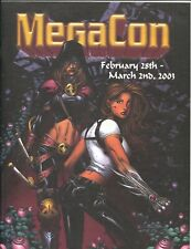 MegaCon Program Book 2003-Good Girl art cover-guest & artist bios-G/VG