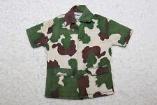 """Vintage GI Joe 1975 - Atomic Man - Camouflage Shirt - """"Bionic Man"""" Tag"""