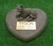 cat Pet Memorial/headstone/stone/grave marker/memorial with plaque nw1
