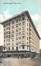 1909 Hotel Southland Dallas TX post card