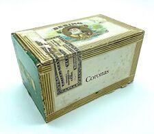 Vintage Bering Coronas 25 Count, Cigars 20¢ a Piece, Cigar Box