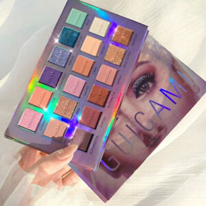 Eye Shadow Palette 18 Color Blue Mashed Cream With Mirror Shimmer Gift Matte New