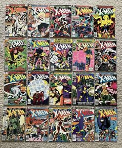 Uncanny X-Men 130-149 Lot (21 Comics): Days of Future Past & Dark Phoenix Saga