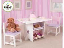 Kidkraft Heart Table & Chairs, Childrens Table & Chair Set
