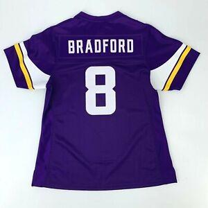 Minnesota Vikings Sam Bradford Jersey Women's Size S Short Sleeve NFL Shirt