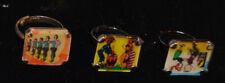 Three flicker rings (Rockettes, Sock Hop, Bongo Drums) - clipon varities