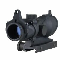 Tactical Illumination ACOG Style 1x32 Red/Green Dot Rifle Sight Scope Airsoft AU