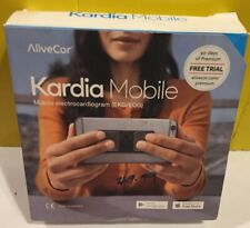 BNIB AliveCor Kardia Mobile Single-Lead EKG Detection W/ 3M PHONE PLATE FREE S&H