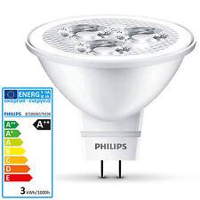 PHILIPS LED 2,8 Watt Halogenersatz 20 Watt GU5.3 MR16 Lampe Spot Strahler 12V
