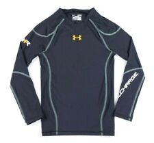 Under Armour Womens Recharge Energy Compression Top Shirt XL Black