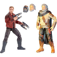 Guardians of the Galaxy Vol. 2 Marvel Legends Star-Lord & Ego Action Figures 2PK