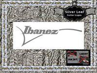 Ibanez Guitar Headstock Decal Restoration Waterslide Logo 106s