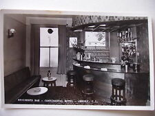 Continental Hotel, Jersey - Residents Bar - circa 1960 real photograph