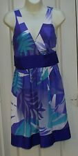 WAREHOUSE 100% silk midi dress size 10