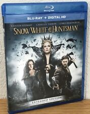 SNOW WHITE & THE HUNTSMAN (Blu-Ray Disc, 2016) EXTENDED EDITION - FLAWLESS!