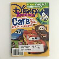 Disney Adventures Magazine November 2006 Disney Pixar's Cars & Sonic Game, VG