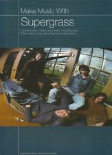 Make Music with Supergrass: Complete Lyrics, 15 classic songs für Gitarre