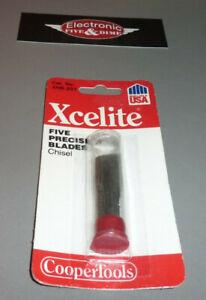 Xcelite Precision Chisel Blades 5-Pack XNB-201