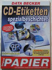 DATA BECKER CD-Etiketten