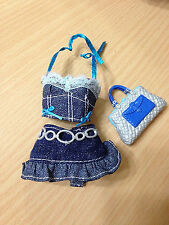 Barbie My Scene Kennedy Totally Charmed Doll Halter Top Skirt Outfit Cloth Rare