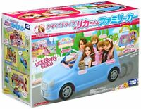TAKARA TOMY Licca-chan LF-04 Drive with Family Car NEW from Japan