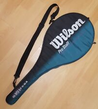 Wilson PRO STAFF 6.0 PWS 95 sq. in. Tennis Racquet 4-3/8 case and carry strap