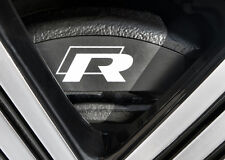 VW R-line High Temp Brake Caliper Decals Golf Scirocco R R32 V Correct Sizes