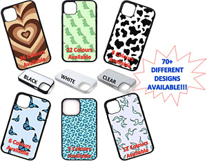 New Phone Case Print iPhone 11 12 6s 7 8 X Shockproof PERSONALISED Custom UK
