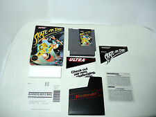 SKATE OR DIE complete in box with manual sleeve NES NTSC videogame nintendo