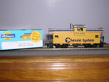 """Athearn #5369 Chessie System """"B.& O."""" Wide Vision Caboose #3382 Built-up"""