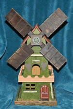 Awesome Primitive Distressed Windmill Birdhouse! Love Nest!