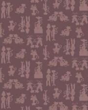 Fat Quarter London Cats 3 O'clock Tea Cotton Quilting Fabric Cocoa