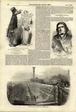 1848 Character Study Kenny Meadows Dram Drinker New Graving Dock Southampton