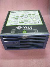 Sun Netra 440 with  4 * 1.28Ghz cpu, 8GB mem, 4 * 73GB HDD, DVD, 4 * AC P.S.