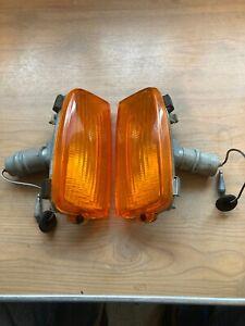 FORD CORTINA MK 4 FRONT INDICATOR LIGHTS.