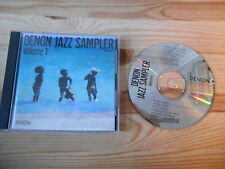 CD Jazz VA Denon Jazz Sampler 1 (14 Song) DENON / JAPAN PRESS