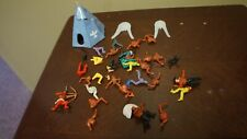 TIMPO TOYS WILD WEST COWBOYS INDIANS PARTS ONLY FOR SPARES OR REPAIRS LOT