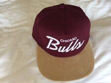 Para Hombre Rojo Oscuro Mitchell & Ness gorra de béisbol
