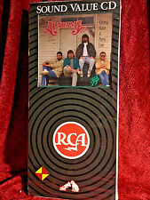 """Rare/sealed Alabama """"Gonna Have A Party...Live"""" Longbox CD 1993 RCA 1st US Press"""