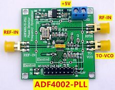 ADF4002 RF module PLL VCO 400MHZ  phase detector Frequency synthesizer