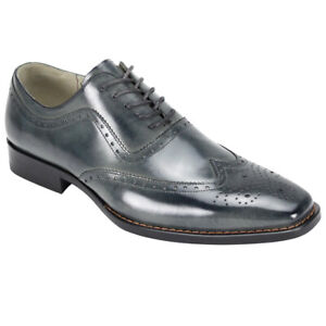 GIOVANNI I FERRARA BABY BUFALLO LEATHER SHOES I GREY